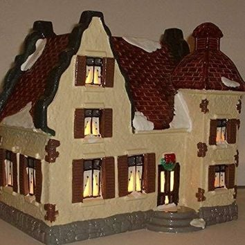 Snow Village Department 56 Sonoma House #5602-8