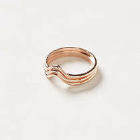 Wave Crest Rings