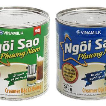 Southern Star Vinamilk Sweetened Condense Milk Ngoi Sao Can Iced Coffee 380 Grams