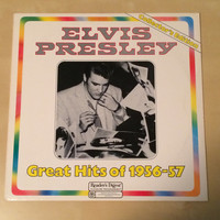 Elvis Presley Great Hits Of 1956 57 Collector's Edition Reader's Digest Album Vinyl RBA 072 D Stereophonic Elvis Collectible