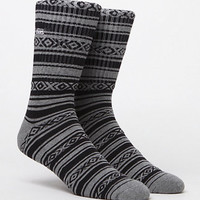 Vans Poncho Heather Grey Crew Socks at PacSun.com