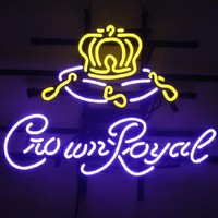 Crown Royal Neon Sign