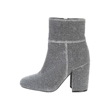 Fontana 2.0 Grey Glitter Ankle Boots