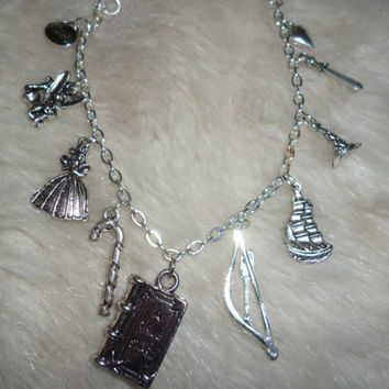 Once Upon a Time inspired 'Wicked' charm bracelet (OUAT14)