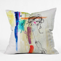 Holly Sharpe Rainbow Throw Pillow