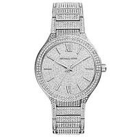 Michael Kors Kerry Stainless Steel Crystal Glitz Watch
