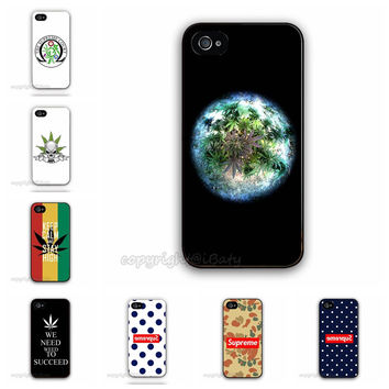"""12 Designs Supreme Weed Custom Logo Printed Phone Case For iPhone 6 Mobile Cover Accessories For iPhone6 4.7"""""""