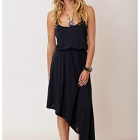 Blue Life - Two Strap Asymmetrical Dress
