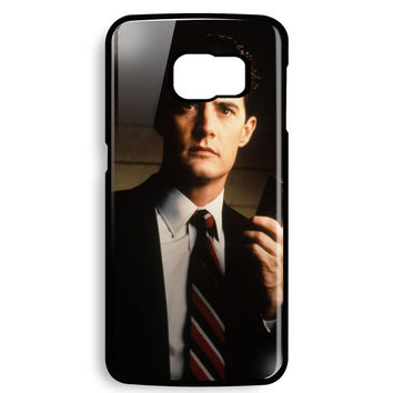 diane twin peaks agent cooper for Samsung Galaxy S6 EDGE Case