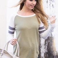 Moss Green Comfy Top