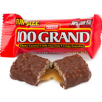 100 Grand Fun Size Candy Bars: 168-Piece Case