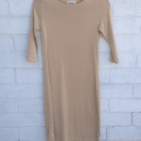 MIDI Slip With Sleeves-Linear Collection - SpottedMod