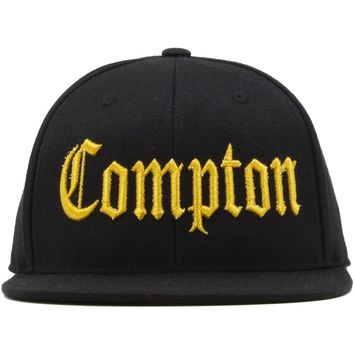 Straight Outta Compton Gold Edition Snapback Hat