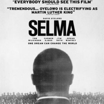 "Selma Poster Black and White Poster 24""x36"""