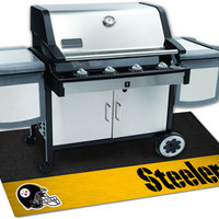Pittsburgh Steelers Grill Mat