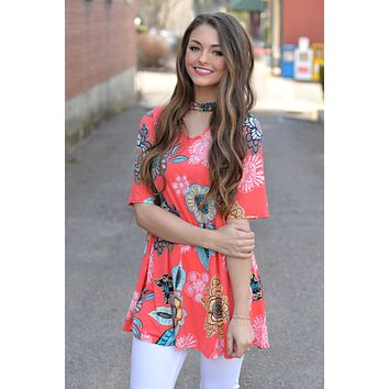 Bright Ideas Ahead Tunic Top