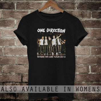 One Direction shirt Where We Are Tour 2014 t-shirt 1D men women clothing OD001