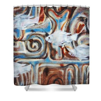Fish - Shower Curtain