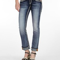 Rock Revival Pamela Straight Stretch Cuffed Jean