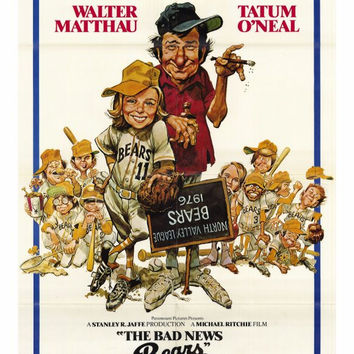 The Bad News Bears 27x40 Movie Poster (1976)