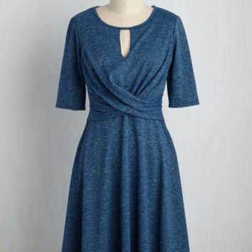 Grant You One Twist Dress | Mod Retro Vintage Dresses | ModCloth.com