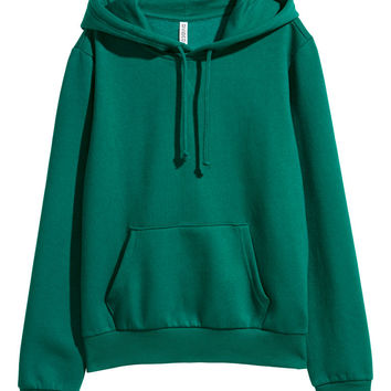 Hooded Sweatshirt - Black - | H&M US