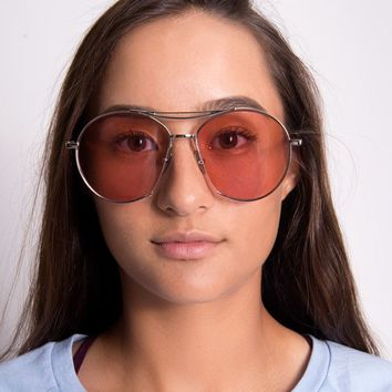 Retro 70's Sunglasses | Pink