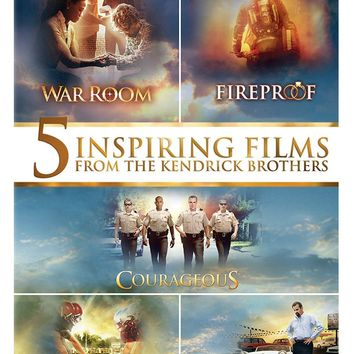 5 Inspiring Films from the Kendrick Brothers on DVD