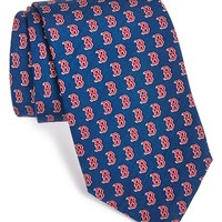 Men's Vineyard Vines Boston Red Sox Silk Tie