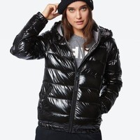 Black Bench Puffer Jacket