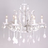 NEW! Ice White Chandelier|Chandeliers|Lighting|French Bedroom Company