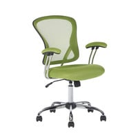 Green High-Back Mesh Computer Chair - Great for Students Dorms Home Office