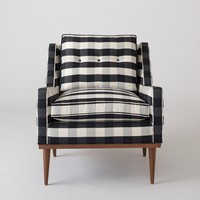 Jack Chair - Windowpane Plaid