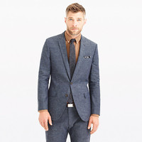 J.Crew Mens Ludlow Suit Jacket In Japanese Chambray