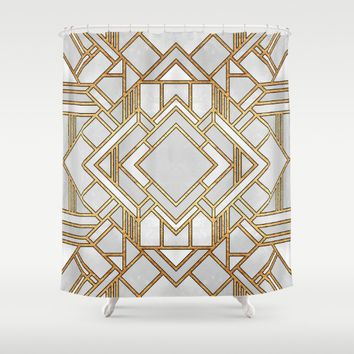 Art Deco 1 Shower Curtain by Elisabeth Fredriksson | Society6