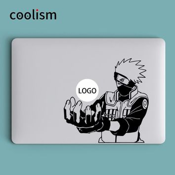 Naruto Sasauke ninja Hatake Kakashi  Laptop Decal Sticker for Apple MacBook Skin Air 13 Pro Retina 11 12 15 inch Vinyl Mac Surface Book Sticker AT_81_8
