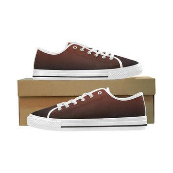 Men's Chocolate Seattle Oxford Cloth Shoes