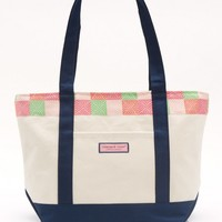 Neon Whale Patchwork Classic Tote