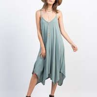 Strappy Flowy Midi Dress
