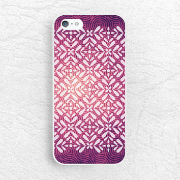 Purple tribal pattern phone case for iPhone 6 5s, Sony z1 z2 z3 compact, LG g3 g2, HTC one m7 m8 M9, Moto x Moto g, Samsung S6, Nexus 6 -P44
