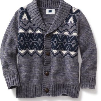Old Navy Fair Isle Cardigan For Baby