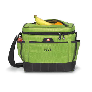 Personalized Green Igloo Cooler Bag