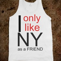 NY is a friend  - Jordan Designs