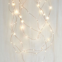 Dorm Decor Quintessential Twinkle String Lights - 30' by ModCloth