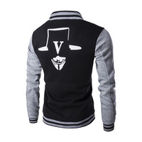 Mens Vendetta Letterman Jacket