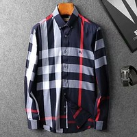 Burberry Men  Fashion Casual  Shirt Top Tee