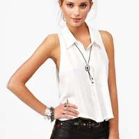Summer Daze Crop Shirt