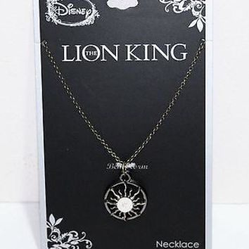 Licensed cool NEW Disney The Lion King Hakuna Matata SUN PENDANT Necklace Burnished Gold Tone