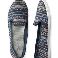 Aeropostale  Southwest Geo Slip-On Shoe
