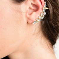 Crystal Reef Ear Cuffs Earrings